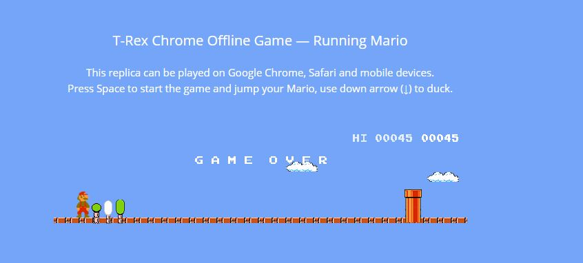 Top 5 sites to Play chrome T-rex game Online — Tech Support