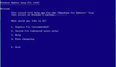 windows 7 update loop fix it