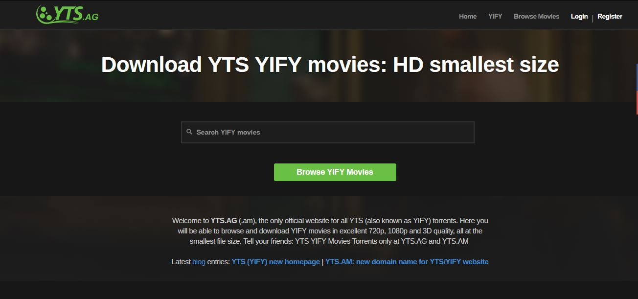 yify movie free download 2018