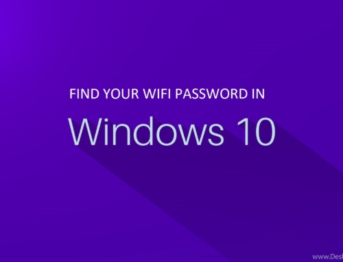 How to find your WiFi Password using Command Prompt in Windows 10?
