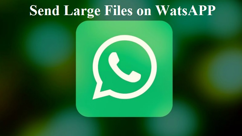 How to Send Large Video Files on WhatsApp upto 1 GB? — Tech Support