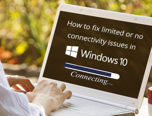 How to fix Limited Network connectivity in your windows 10 machine?
