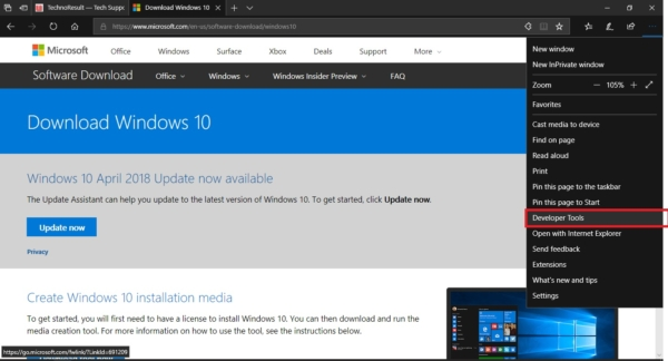 download windows 10 iso without tool