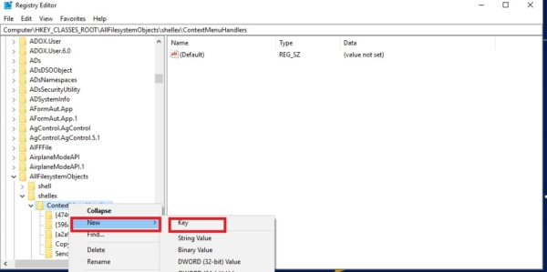 creating menu item in reg edit-Copy To and Move To Folder