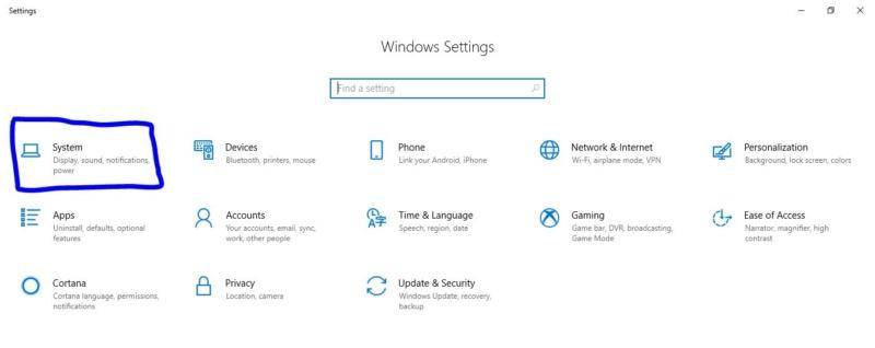 Opening settings-Network Icon on Taskbar Missing
