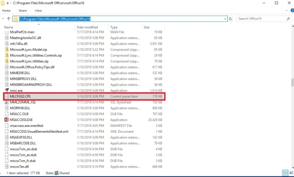 finding the path from the file explorer-mail 32 bit -mail 32 bit