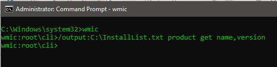 getting installed program list from wmic-Download ccleaner-List of Installed Programs on Windows